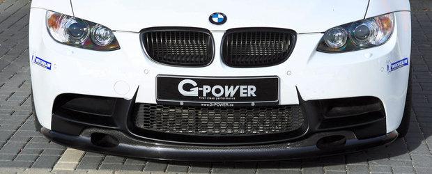 BMW M3 ajunge din nou in garajul G-Power, se alege cu 720 CP si multa fibra de carbon
