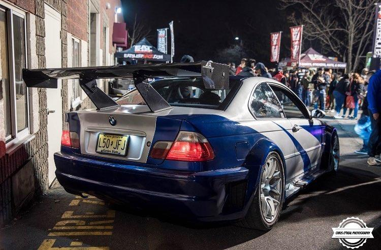 BMW M3 ca in Need for Speed: Most Wanted - BMW M3 ca in Need for Speed: Most Wanted
