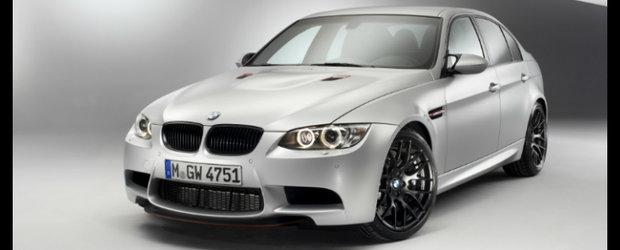 BMW M3 CRT - Dieta cu cai putere si fibra de carbon