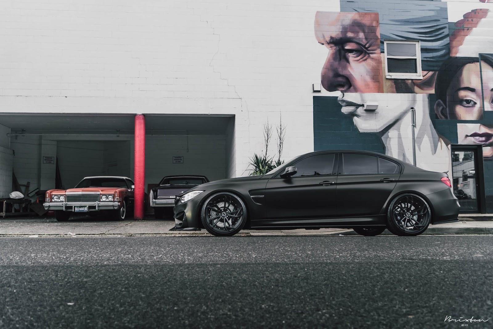 BMW M3 cu jante Brixton Forged - BMW M3 cu jante Brixton Forged