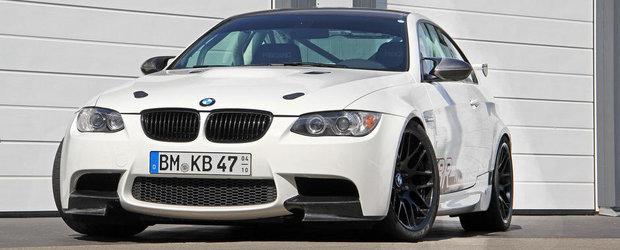 BMW M3 de la KBR Motorsport: Pentru cei care mananca circuit pe paine