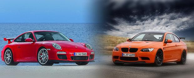 BMW M3 GTS versus Porsche 911 GT3