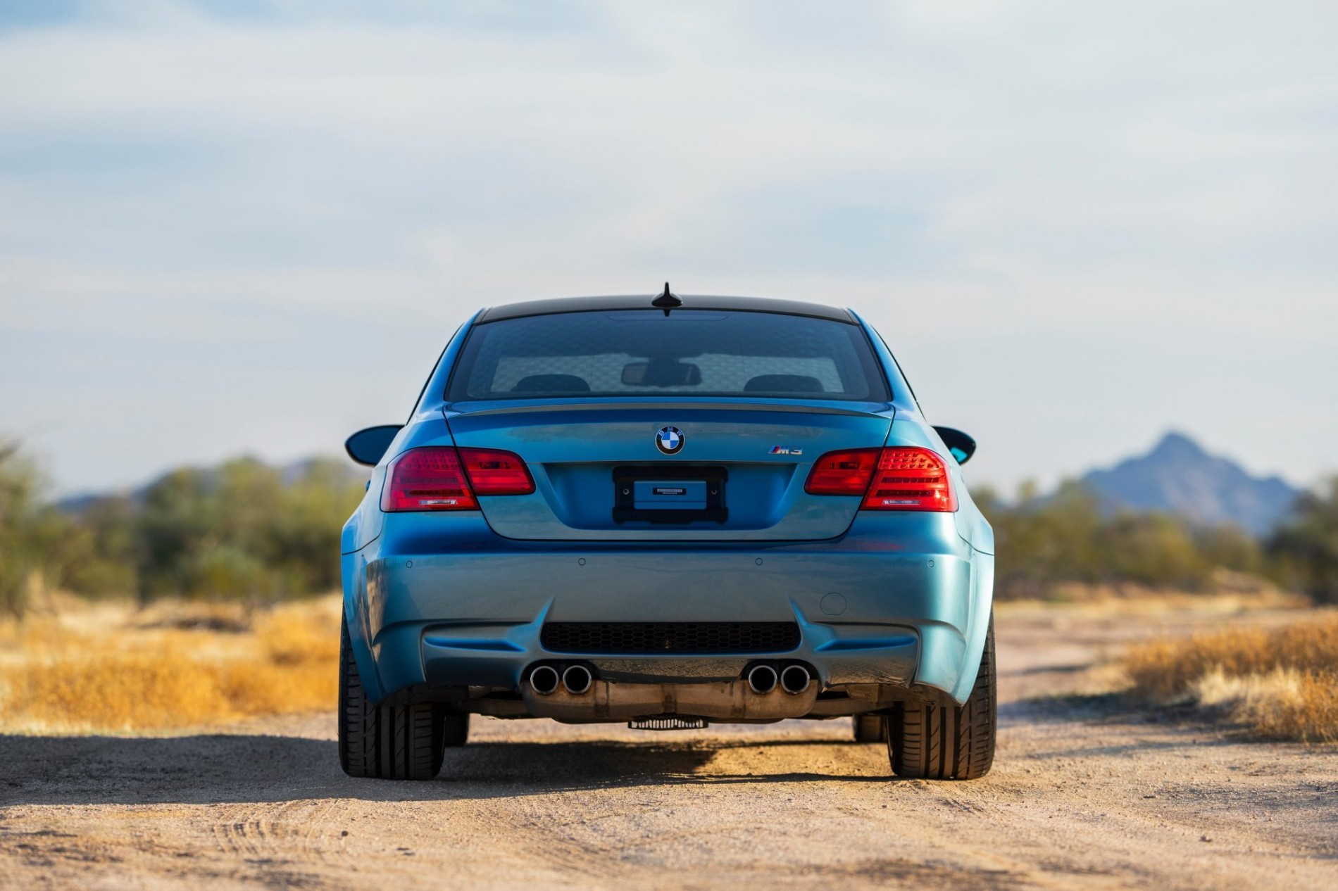 BMW M3 in Atlantic Blue - BMW M3 in Atlantic Blue
