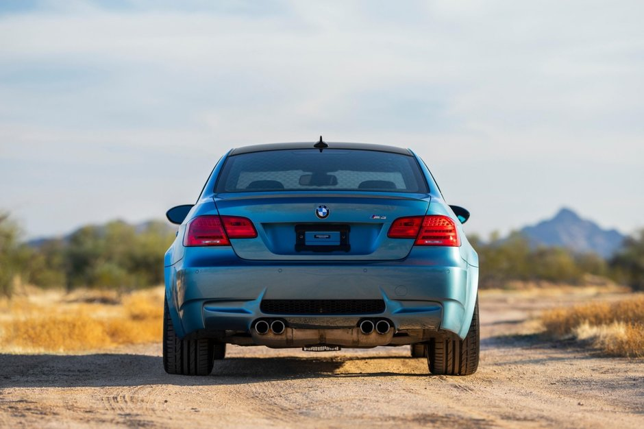 BMW M3 in Atlantic Blue