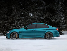 BMW M3 in nuanta Atlantis Blue