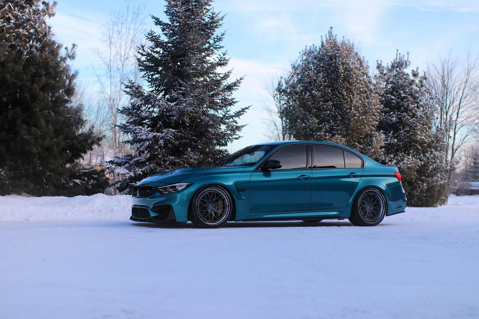 BMW M3 in nuanta Atlantis Blue - BMW M3 in nuanta Atlantis Blue
