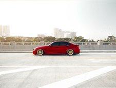 BMW M3 in nuanta Satin Red