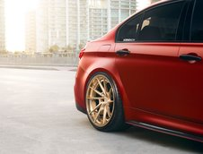 BMW M3 in nuanta Satin Red