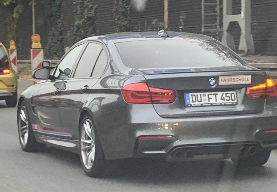 BMW M3 - Masina de scoala