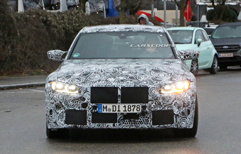 BMW M3- poze spion