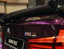 BMW M3 Sedan in nuanta Twilight Purple