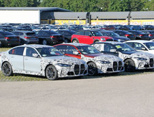 BMW M3 Sedan - Poze Spion