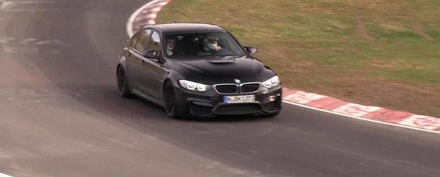 BMW M3 Sedan se intoarce la Nurburgring pentru o noua serie de teste