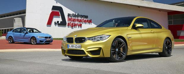 BMW M3 Sedan si BMW M4 Coupe: Super GALERIE FOTO cu peste 140 de imagini