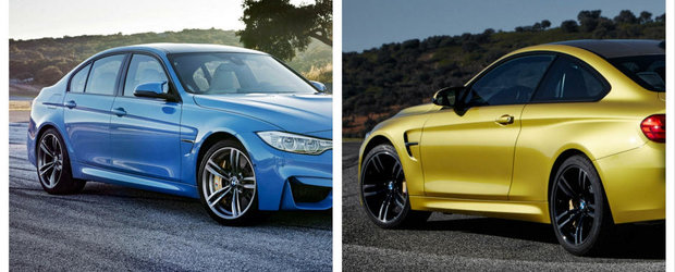 BMW M3 Sedan vs BMW M4 Coupe: Care-i favoritul tau?