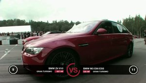 BMW M3 Supercharged si BMW Z4 V10, fata in fata, pe pista de drag
