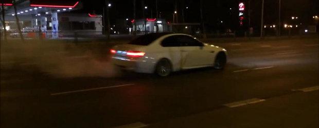 BMW M3 vs. Politie: Un polonez se distreaza cu autoritatile din Varsovia