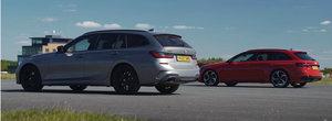 BMW M340i Touring vs Audi RS4 Avant. Duelul break-urilor germane este mai aprins ca niciodata