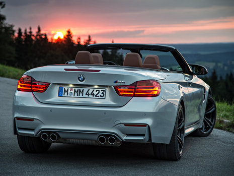 BMW M4 Convertible - Galerie Foto