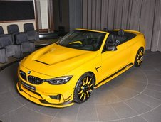 BMW M4 Convertible in Speed Yellow