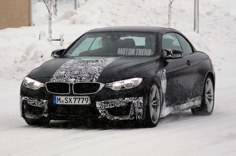 BMW M4 Convertible - Poze Spion