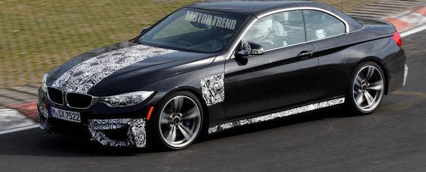 BMW M4 Convertible revine la Nurburgring pentru un ultim set de teste