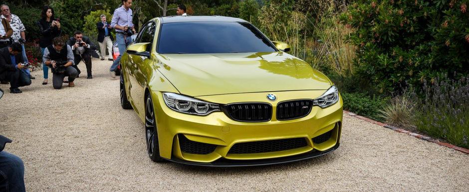 BMW M4 Coupe: Cum arata in realitate succesorul legendarului M3 Coupe