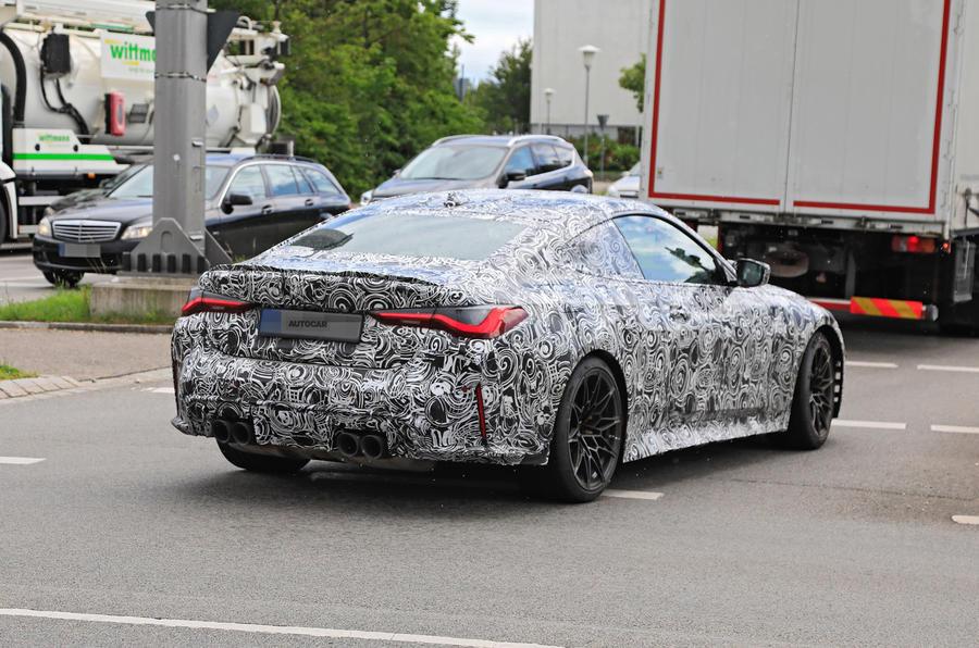 BMW M4 Coupe - Poze spion