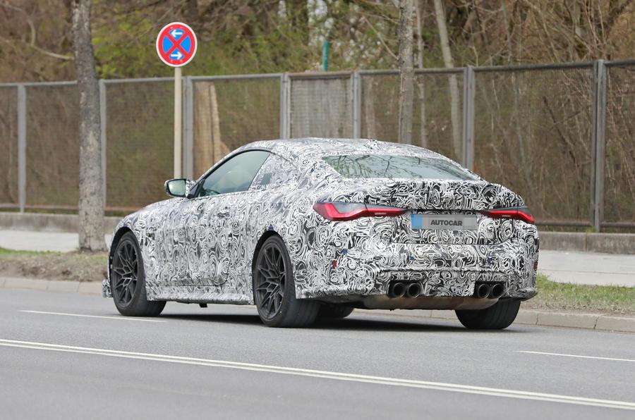 BMW M4 CSL - Poze spion