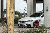 BMW M4 cu jante ADV1