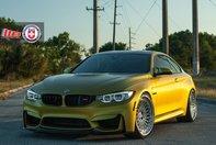 BMW M4 cu jante clasice