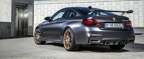BMW M4 GTS debuteaza oficial, ofera 500 CP, injectie cu apa si stopuri OLED