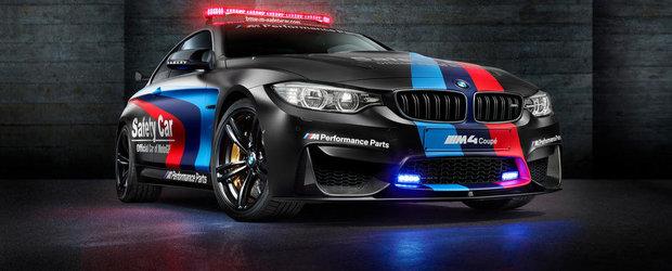 BMW M4 imbraca uniforma de Safety Car si pentru MotoGP 2015