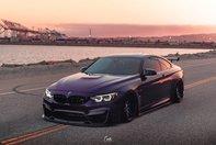 BMW M4 in Daytona Violet