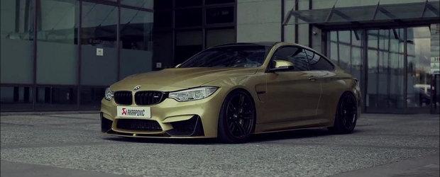 BMW M4 primeste mult asteptatul sistem de evacuare de la Akrapovic