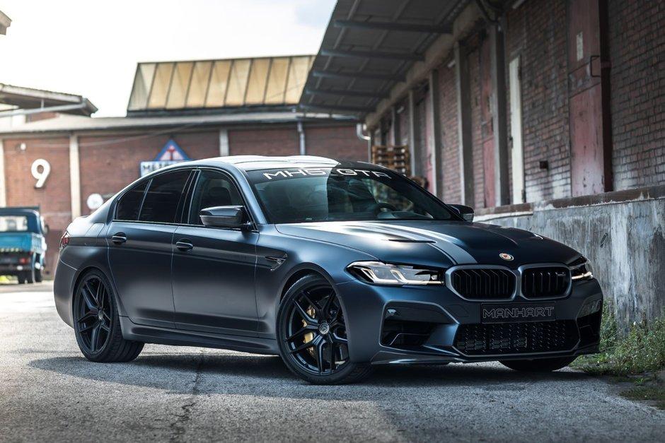BMW M5 CS de la Manhart Performance