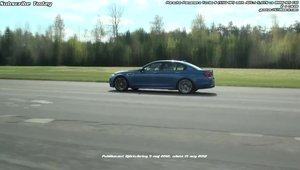 BMW M5 F10 vs. Porsche Panamera Turbo S