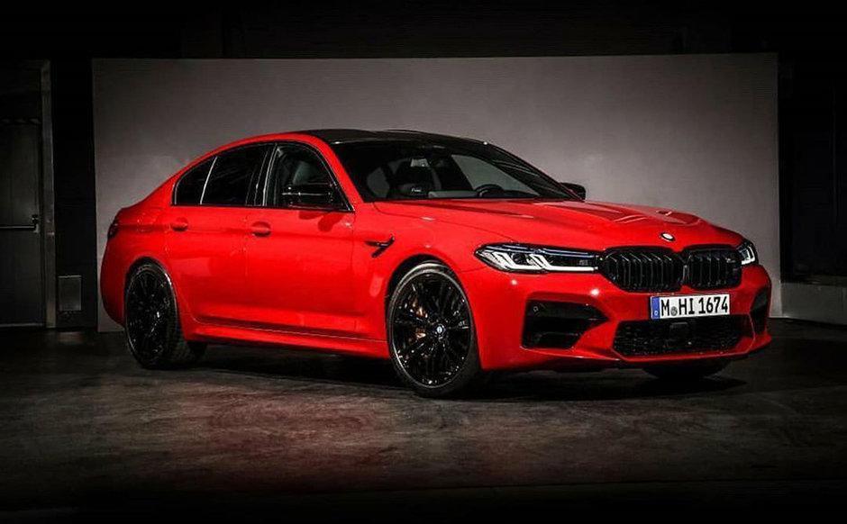 BMW M5 Facelift - Prima poza