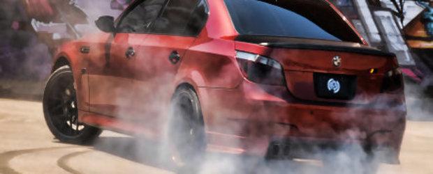BMW M5 - Fotomodel pentru Forgiato Maglia