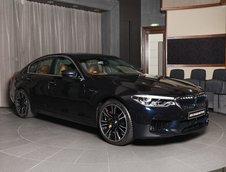 BMW M5 in Azurite Black