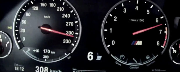 BMW M5 la Nardo - 300+ km/h cu aroma de cafea