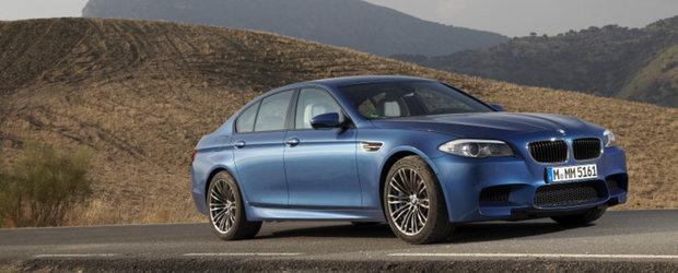 BMW M5. Noua generatie. Peste 170 de fotografii artistice.