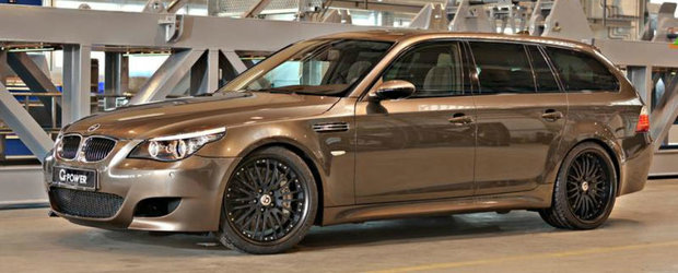 BMW M5 Touring by G-Power sau Cum arata cel mai rapid break din lume