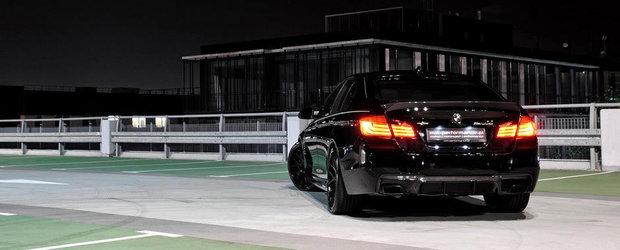 BMW M550d by MM Performance: Tuning sinistru pentru super-bavarezul diesel