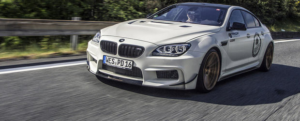 BMW M6 Gran Coupe by Prior Design: Eleganta si sportivitate in acelasi pachet!