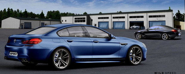 BMW M6 Gran Coupe vine in 2013, promite 560 CP si 680 Nm