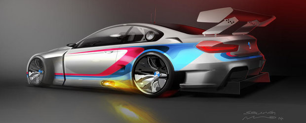 BMW M6 GT3 vine in 2015, promite un V8 bi-turbo