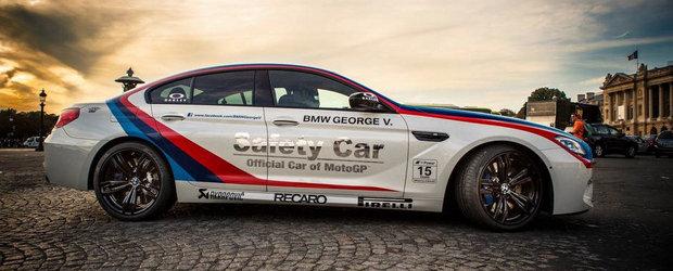 BMW M6 vs Paris: Safety Car-ul din MotoGP viziteaza Orasul Luminilor