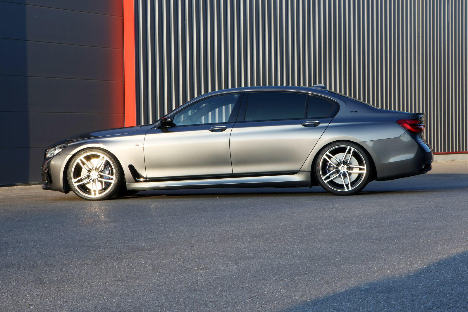 BMW M760Li de la G-Power - BMW M760Li de la G-Power