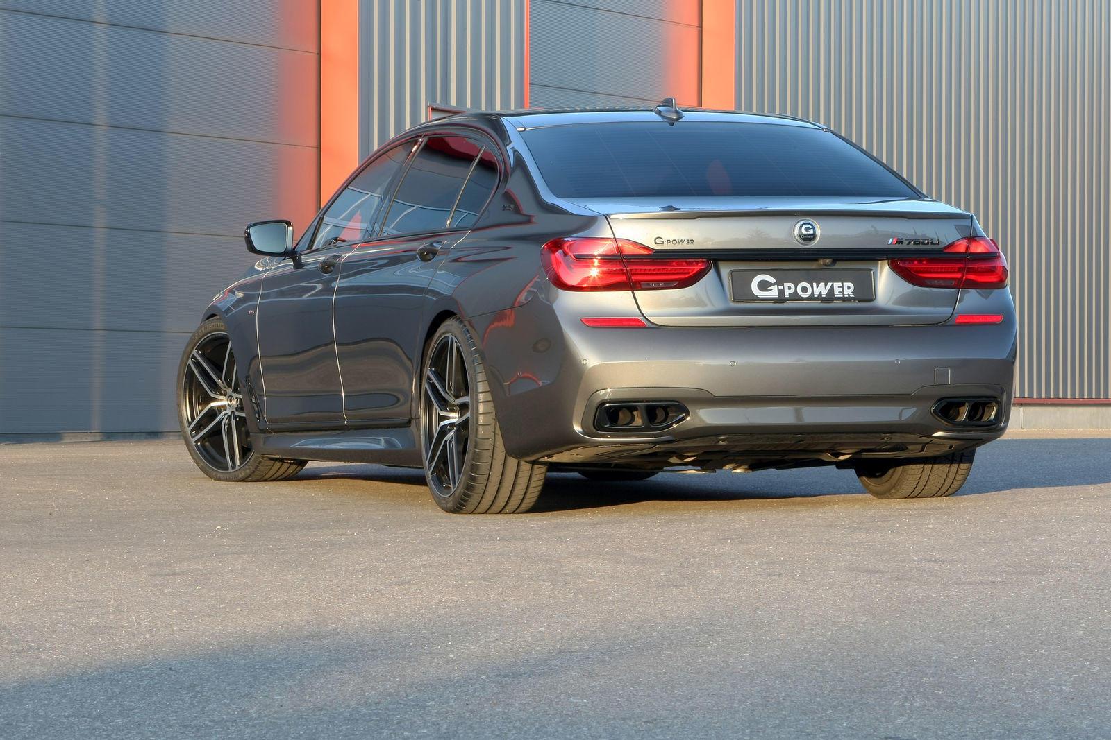 BMW M760Li de la G-Power - BMW M760Li de la G-Power